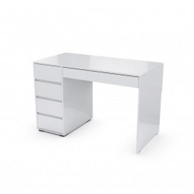 Стол компьютеный №13 (Белый глянец)